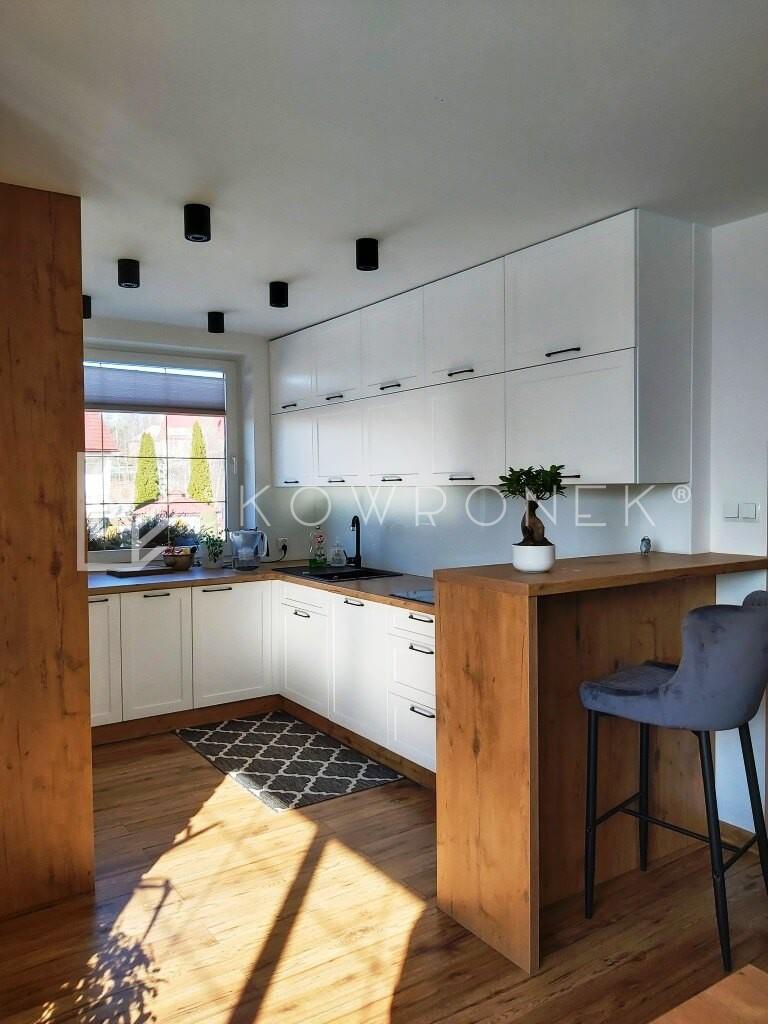kuchnia skandynawska biały mat lancelot dąb loft jez1