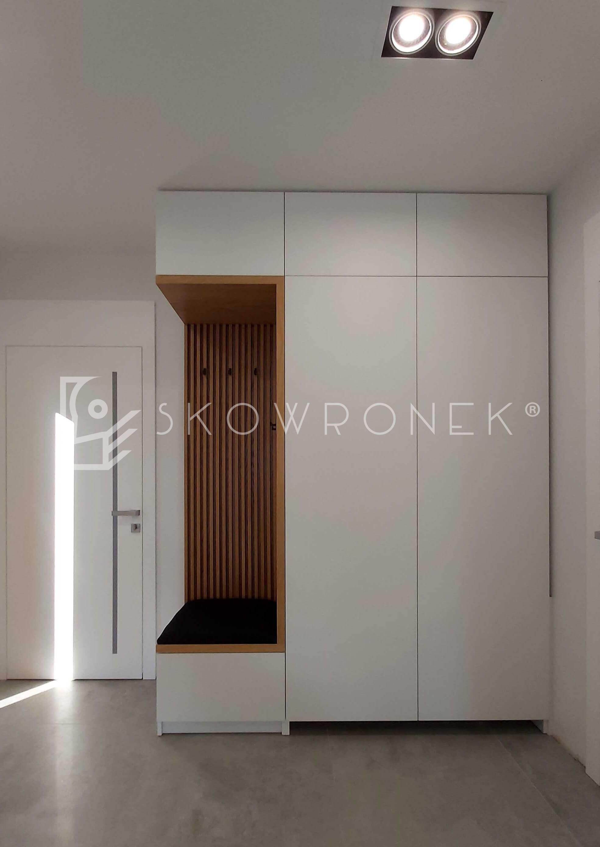 szafa akryl biały ażurowe panel mat skowronek 1