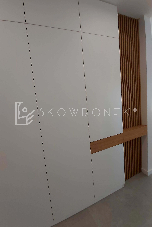 szafa akryl biały ażurowe panel mat skowronek 2